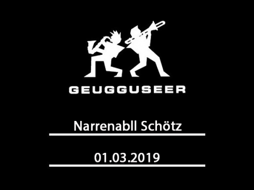 Narrenball Schötz 01.03.2019